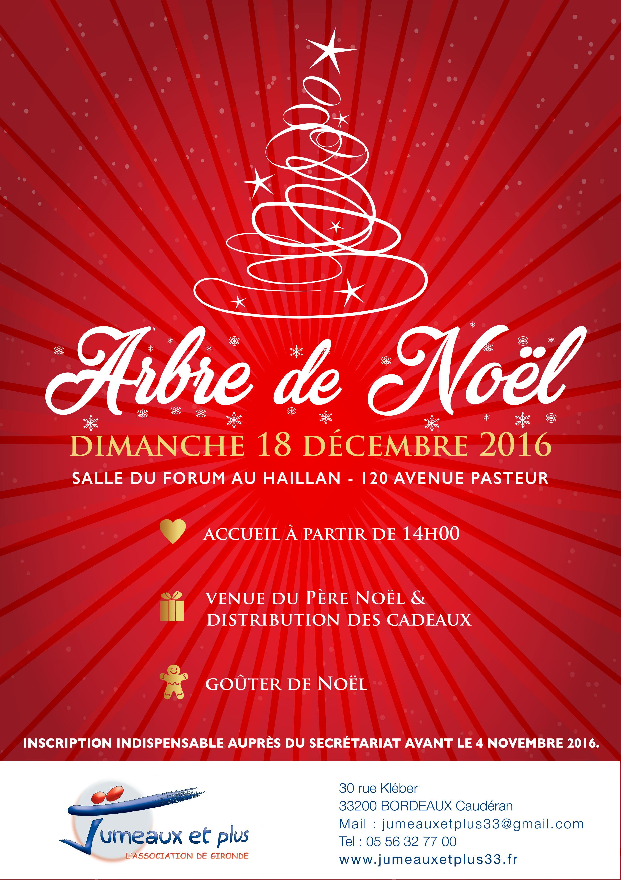 affiche de noel Grand arbre de Noël de votre association | Jumeaux et Plus 33 affiche de noel